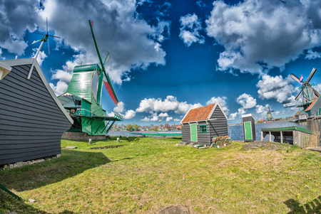 mills: Wind mills of Netherlands.