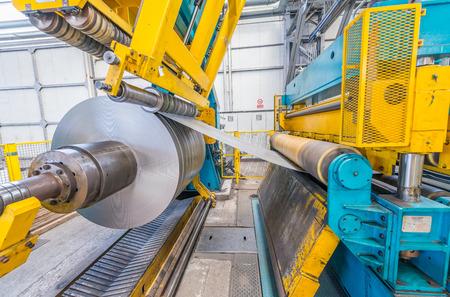 철강 절단 용 산업용 기계.