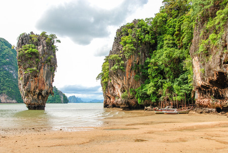 bond: Phuket James Bond island Phang Nga, Thailand.