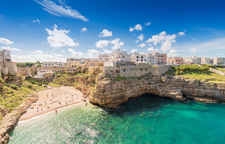 Polignano A Mare, Apulia, Italy. Stock Photo