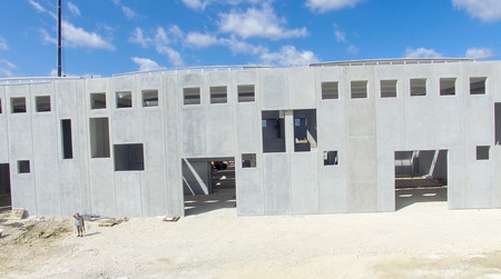 buildingsite: Building site, working in progress. Stock Photo