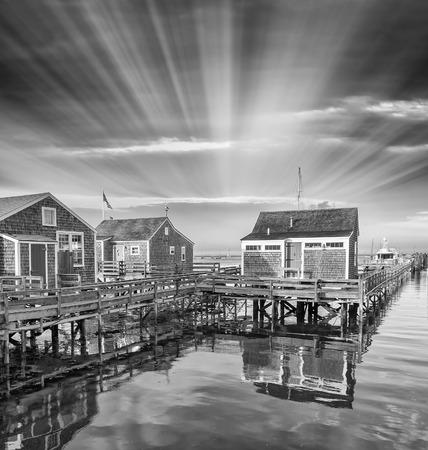 martha: Nantucket Coast in Massachusetts. Stock Photo