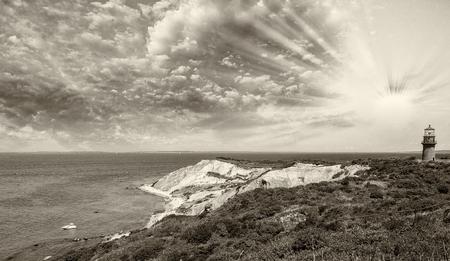 martha: Wonderful landscape of Aquinnah Beach, Marthas Vineyard.