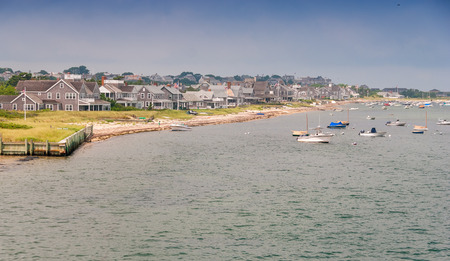 cape cod style: Nantucket Coast, MA.