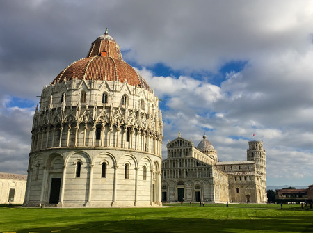 miracle square: Square of Miracles, Pisa in Tuscany - Italy.
