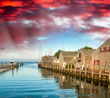 Beautiful Nantucket coast.