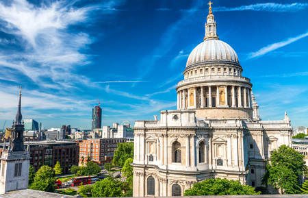 paul: Saint Paul Cathedral Dome, London.