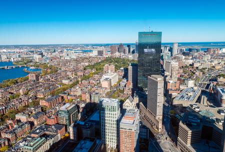 massachusetts: Beautiful Boston skyline, Massachusetts.