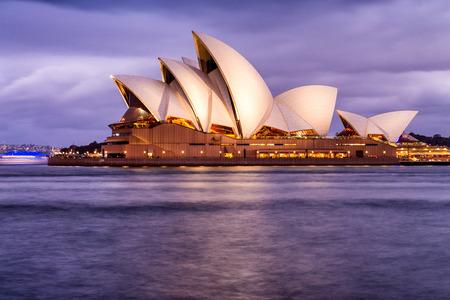 jorn: SYDNEY - OCTOBER 12, 2015: The Sydney Opera House. It was designed by Danish architect Jorn Utzon.