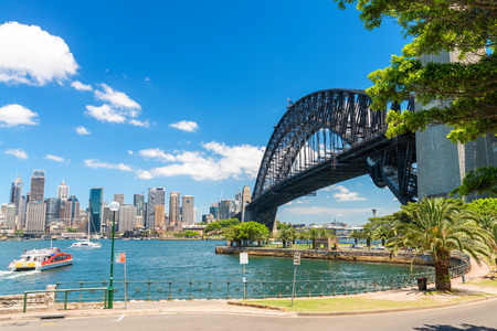 Sydney Harbour Bridge, New South Wales, Australia. 스톡 콘텐츠