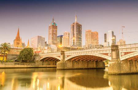 melbourne australia: Modern architecture of Melbourne, Australia.