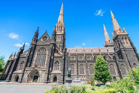 melbourne australia: St Patrick Cathedral, Melbourne - Australia.