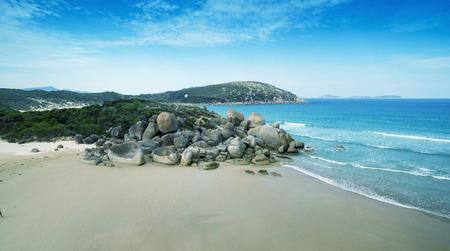 promontory: Wilsons Promontory, Victoria, Australia.