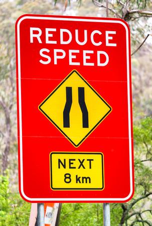 australian outback: Australian outback road sign.