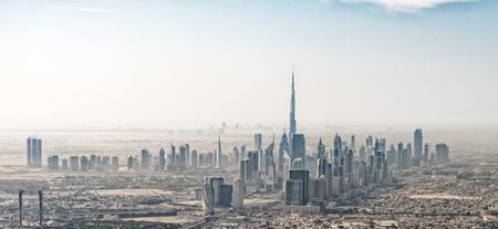 두바이 스카이 라인, UAE의 놀라운 공중보기