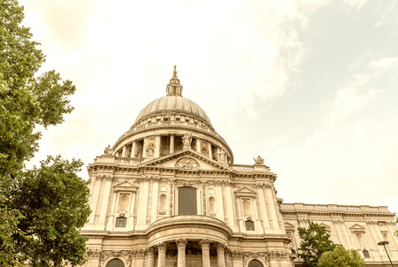 st: St Paul Cathedral, London. Stock Photo