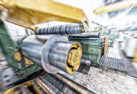 coils: Steel coils cutter.