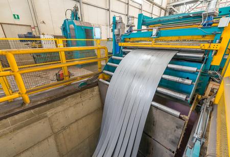 cutter: Steel coils cutter.