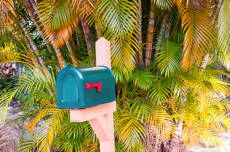postman of the desert: Country Letterbox.