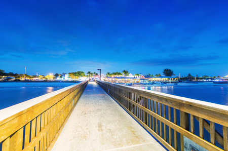 myers: Jetty at sunset, Fort Myers - Florida.