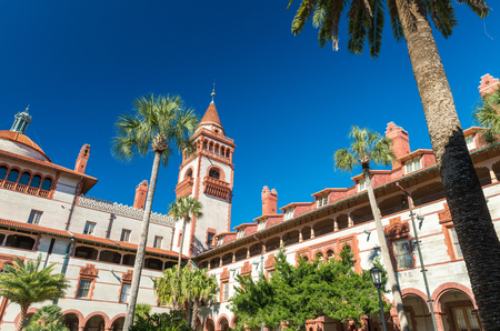 augustine: St. Augustine, Florida, USA. Flagler College. Stock Photo