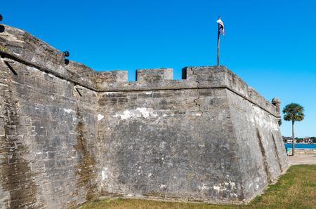 marcos: Fort Castillo de San Marcos , St. Augustine, Florida, US.