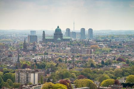 Bruxelles: Bruxelles skyline. Buildings of Brussels, Belgium.