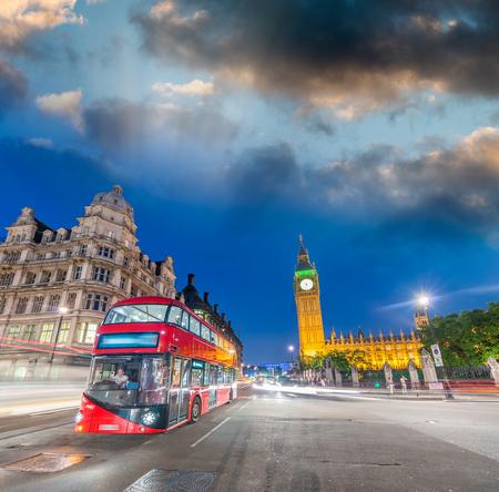 uk: Skyline of London, UK.
