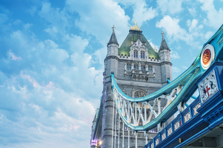 magnificence: Magnificence of Tower Bridge, London - UK.