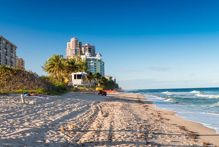 Fort Lauderdale beach. Reklamní fotografie