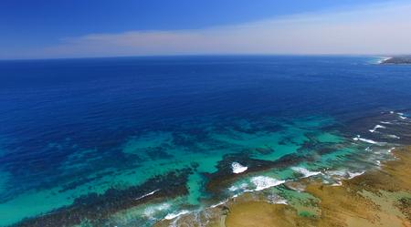 victoria park: Overhead view of Fort Nepean, Mornington Peninsula, Australia.