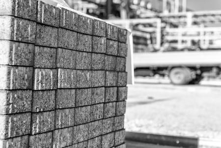 construction materials: Construction materials. Industrial concept Stock Photo