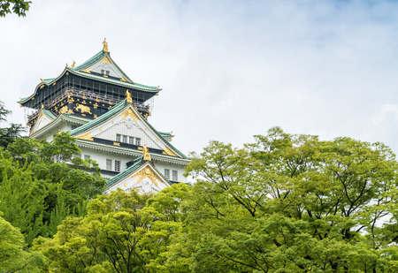 magnificence: Magnificence of Osaka Castle, Japan.