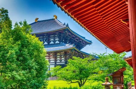 todaiji: Todai-ji Temple in Nara, Japan.