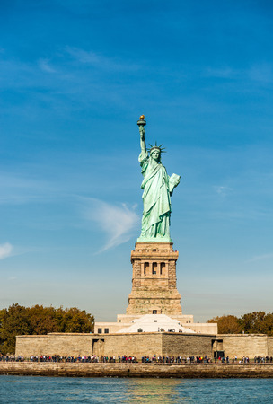 magnificence: Magnificence of Statue of Liberty - New York City - USA.