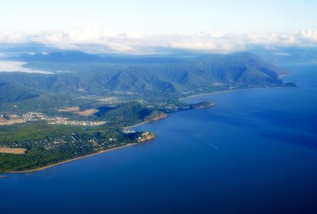 port douglas: Cairns to Port Douglas Coast in Queensland, Australia Stock Photo
