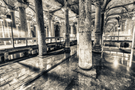 cistern: The Basilica Cistern (Sunken Palace, or Sunken Cistern), is the largest of several hundred ancient cisterns that lie beneath Istanbul.