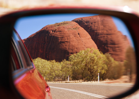 australian outback: Bright and Sunny Day in the Australian Outback Editorial