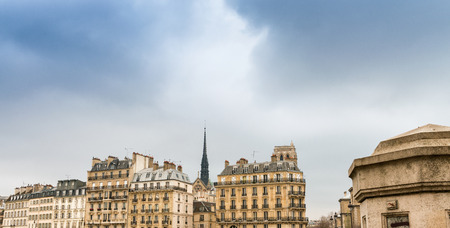 magnificence: Magnificence of Paris skyline, France.