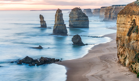 magnificence: Magnificence of Twelve Apostles Rocks at sunrise - Great Ocrean Road - Australia.