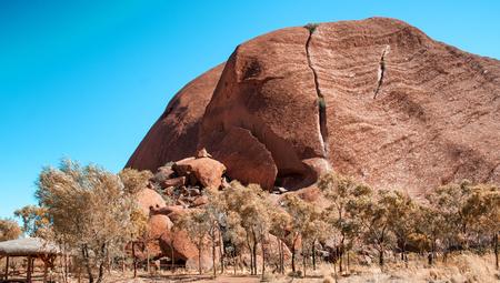 tjuta: Scenic view of Olgas Park, Northern Territory, Australia. Stock Photo