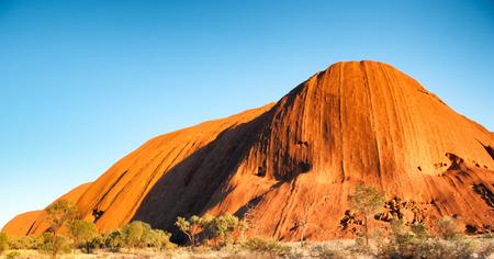 olgas: Scenic view of Olgas Park, Northern Territory, Australia. Stock Photo