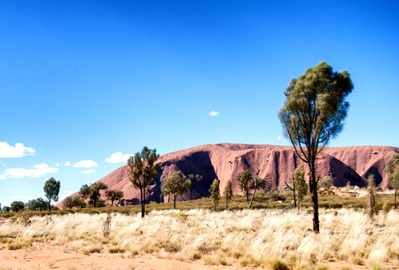 Beautiful park of Northern Territory, Australian Outback.