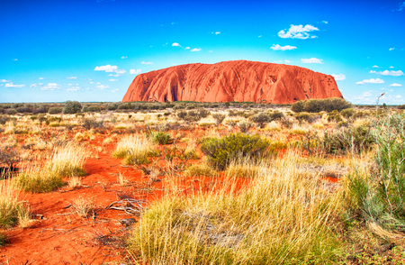 olgas: Scenic view of Olgas Park, Northern Territory, Australia. Editorial