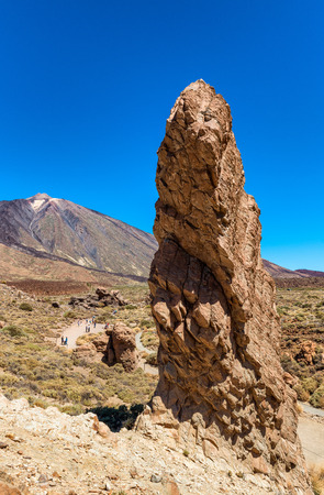 and magnificent: Magnificent rocks on Mount Teide, Tenerife.