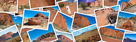 australian outback: Australian Outback photo collage.