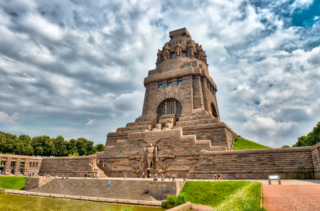Monument to the Battle of the Nations, Leipzig, Germany.