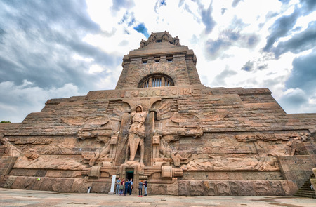nations: Leipzig, Germany. Monument to the Battle of the Nations. Editorial