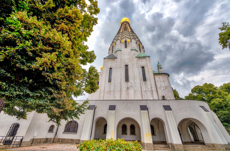 russian orthodox: Russian Orthodox Church in Leipzig, Germany.