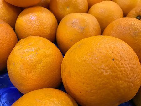 close up: Close up of oranges.